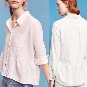 Anthro HH McKenzie Linen Shirt
